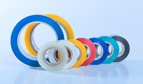 各種顏色的電工膠帶
