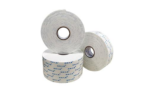 高粘空白泡棉雙面膠帶 1mm/3mm/2mm厚KT板鋁塑板專用泡沫雙面膠
