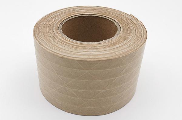 简单介绍湿水牛皮纸胶带与夹筋牛皮纸胶带