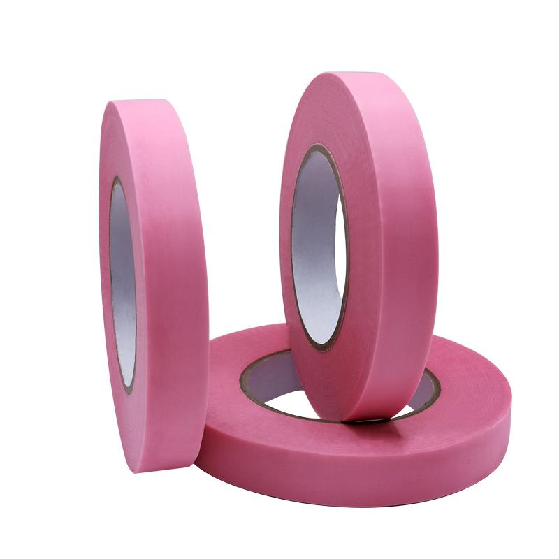 粉红色防护服热熔胶条