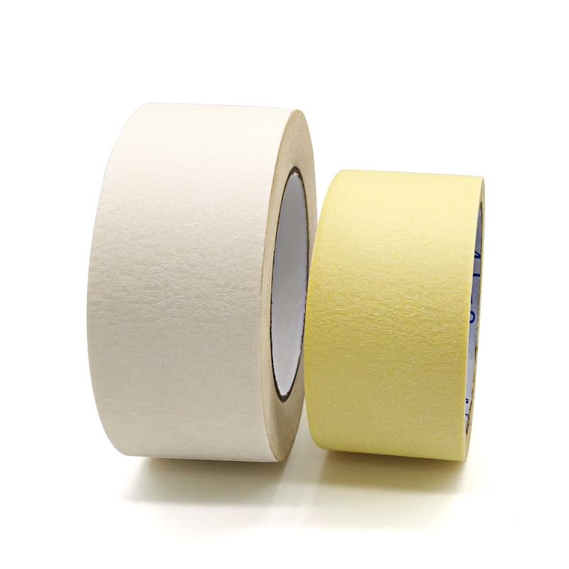 白色土黄色美纹纸胶带